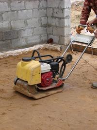 Уплотнение песчаного грунта