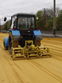 Уплотнение грунта песок