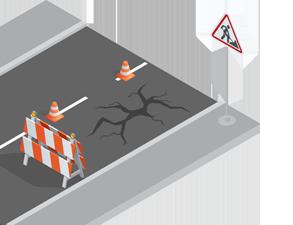 Ремонт дорог в Подольске